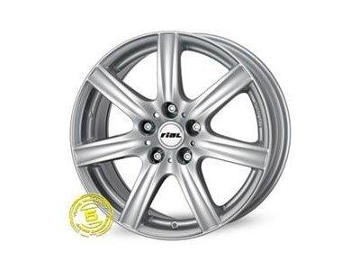 Aluminijasto platišče 4x100 ET43 5,5x14 RIAL DAVOS srebrna 63,3