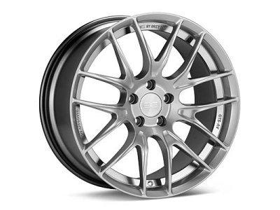 Aluminijasto platišče 5x100 ET30 8,0x18 GTS-AV BE BREYTON hyper silber 57,1