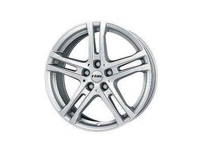 Aluminijasto platišče 5x108 ET50 6,5x16 RIAL BAVARO srebrna 63,4