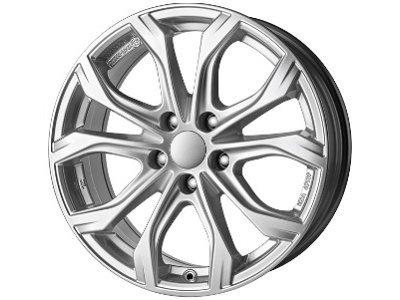 Aluminijasto platišče 5x112 ET28 7,5x17 UNIWHEELS W10 srebrna 66,5