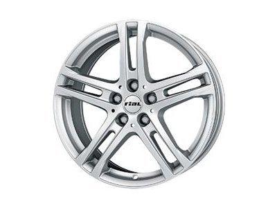 Aluminijasto platišče 5x114,3 ET50 6,5x16 RIAL BAVARO srebrna 70,1