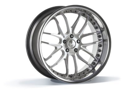 Aluminijasto platišče  5x120 ET30 9,0x22 GTR hyper silber BREYTON