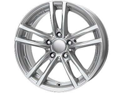 Aluminijasto platišče 5x120 ET31 7,0x16 UNIWHEELS X10 srebrna 72,6