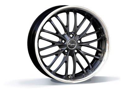 Aluminijasto platišče 5x120 ET35 10,0x20 RACE CS matt black BREYTON