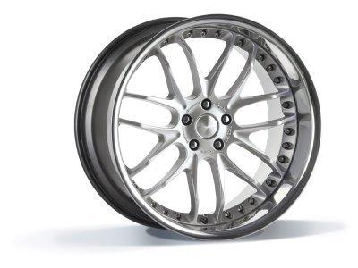Aluminijasto platišče 5x120 ET35 10,0x21 GTR hyper silber BREYTON