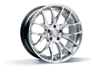 Aluminijasto platišče 5x120 ET35 7,5x18 RACE GTS hyper silber BREYTON