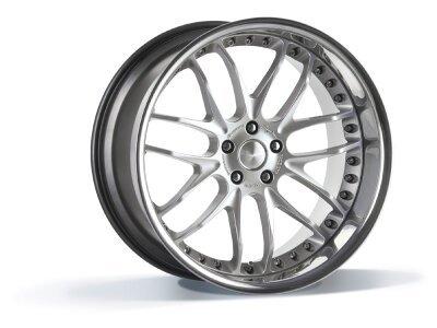 Aluminijasto platišče 5x120 ET35 9,0x21 GTR hyper silber BREYTON