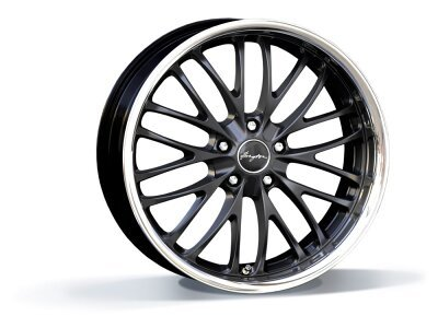 Aluminijasto platišče 5x120 ET35 9,5x19 RACE CS matt black BREYTON