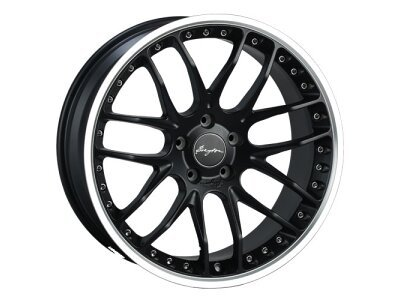 Aluminijasto platišče 5x120 ET38 8,5x19 RACE GTP matt black BREYTON