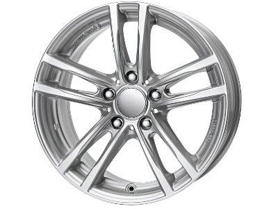 Aluminijasto platišče 5x120 ET40 7,0x16 UNIWHEELS X10 srebrna 72,6