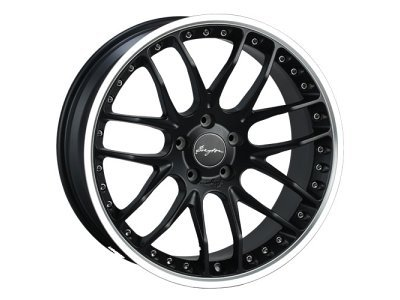 Aluminijasto platišče 5x120 ET42 9,5x19 RACE GTP matt black BREYTON