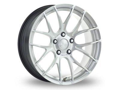 Aluminijasto platišče 5x120 ET45 7,5x18 RACE GTS-R hyper silber BREYTON
