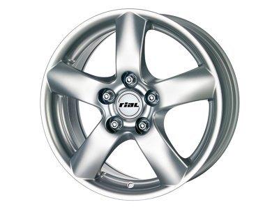 Aluminijasto platišče  5x120 ET51 6,5x16 RIAL DAVOS srebrna 65,1