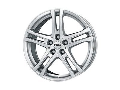 Aluminijski naplatak  5x108 ET47 7,5x17 RIAL BAVARO srebrna 70,1