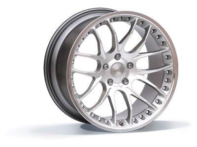 Aluminijski naplatak 5x120 ET42 9,5x19 RACE GTP hyper silver BREYTON