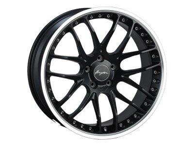 Aluminijski naplatak 5x120 ET42 9,5x19 RACE GTP matt black BREYTON