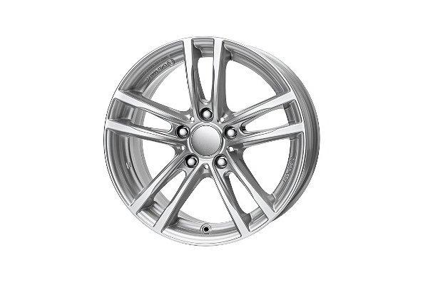 Aluminijumske felne 5x120 ET30 8,0x17 UNIWHEELS X10 srebrna 72,6