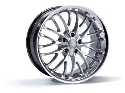 Aluminijumske felne 5x120 ET35 10,0x20 RACE CS hyper silver BREYTON