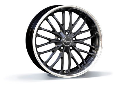 Aluminijumske felne 5x120 ET35 10,0x20 RACE CS matt black BREYTON