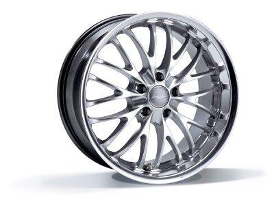Aluminiumfelge 5x120 ET35 10,0x20 RACE CS hyper silber BREYTON