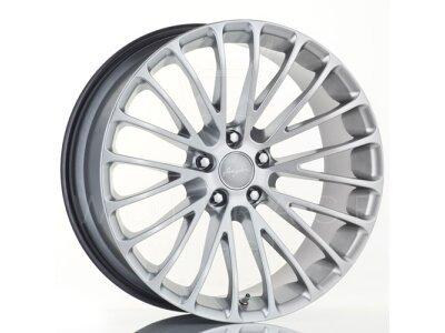 Aluminiumfelge 5x120 ET35 10,0x20 RACE LS hyper silber BREYTON