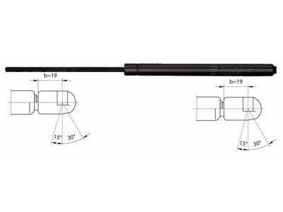 Amortizer haube (straga) BMW E46 00-04 627x205