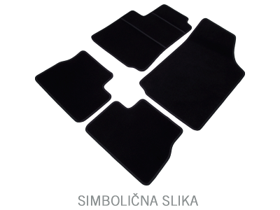 Auto tepis (tekstilni) 601056203 - Škoda Octavia 04-13