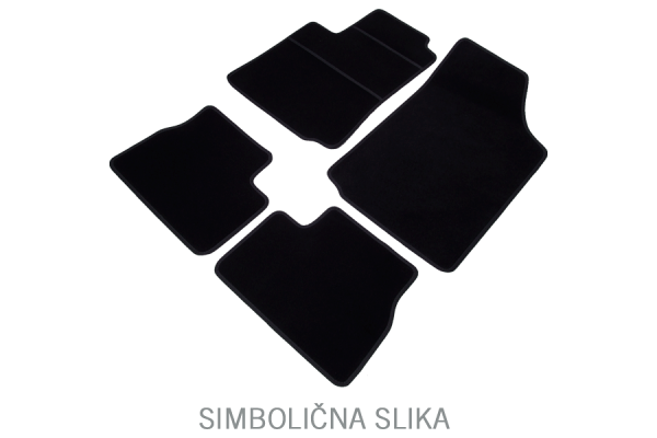 Auto tepis (tekstilni) Škoda Superb 01-08