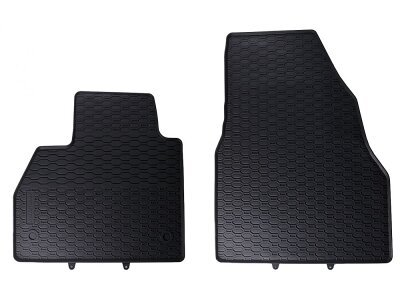 Avto tepih (gumijasti) 110-054-002 - Mercedes-Benz Citan 12-, crni