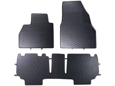 Avto tepih Mercedes Citan 12-, črni (3 kosi)