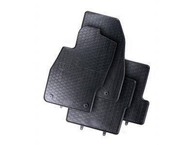 Avto tepih Opel Corsa E 15-, črni