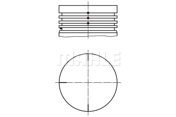 Bat - Nissan Kubistar 03-09; 69,5 mm