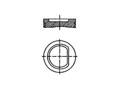 Bat - Seat Cordoba 93-99; 76,5 mm