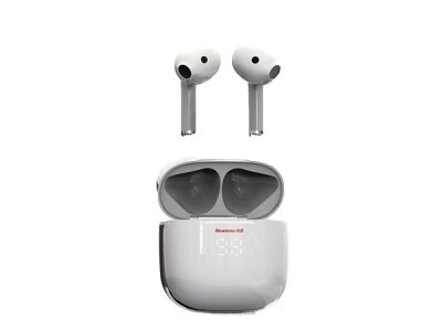 Bežične Bluetooth slušalice K6, in-ear, Bluetooth 5.0, IPX5, White