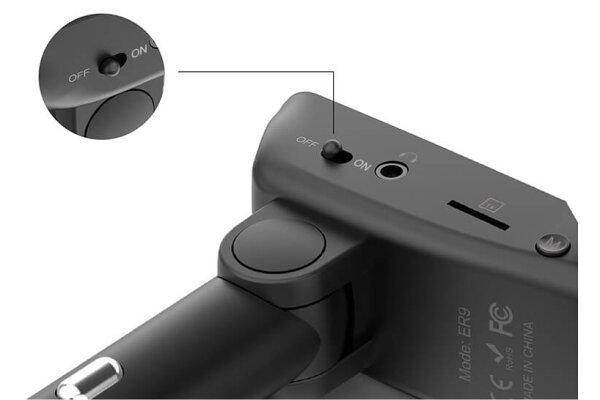 Bezručni predajnik i punjač sa Bluetooth 4.2 CSR i bežičnim slušalicama