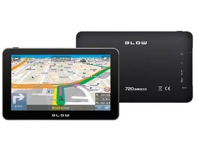 "Blow navigacija GPS720 Sirocco, + EU + spominska kartica 8 GB, 7"""