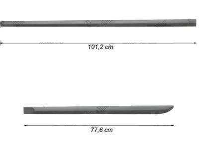 Bočne lajsne Saab 9-3 07-