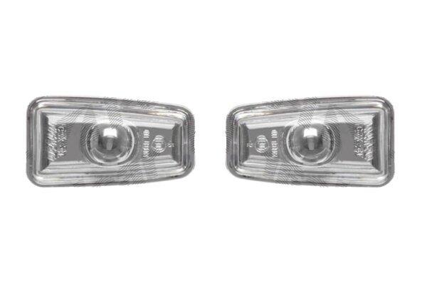 Bočni žmigavac 230619AE - Citroen Berlingo 96-08, prozirno-zatamnjen