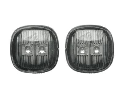 Bočni žmigavac Audi A3 96-03, crni, LED