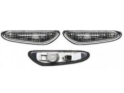 Bočni žmigavac BMW, prozirno-zatamnjen, set