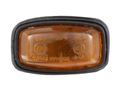Bočni žmigavac Fiat 126 FL 72-00, rumen