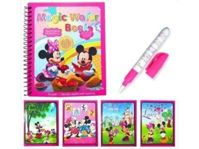 Bojanka + magični flomaster, za decu 3+ godine, Miki Maus