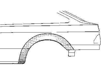 Bok delni Ford Sierra 87- 4VR