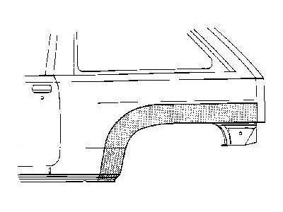 Bok delni Opel CORSA B 93-00 3V