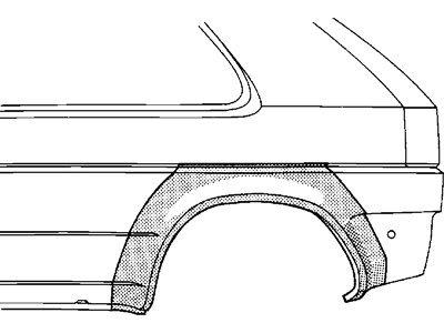 Bok delni Volkswagen GOLF III 91-97 5V