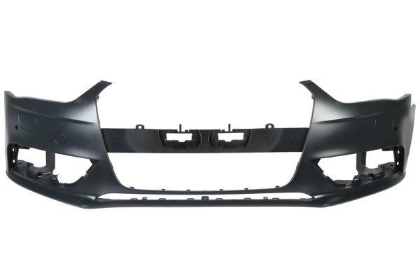 Branik Audi A4 12- + rupe za pranje farova + PDC