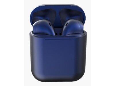 Brezžične Bluetooth slušalke Original i12 TWS Dark Blue, prostoročno telefoniranje, glasba, Touch Control, Temno Modre