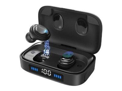 Brezžične Premium Bluetooth slušalke H01, IPX7, 2000 Mah, Bluetooth 5.0