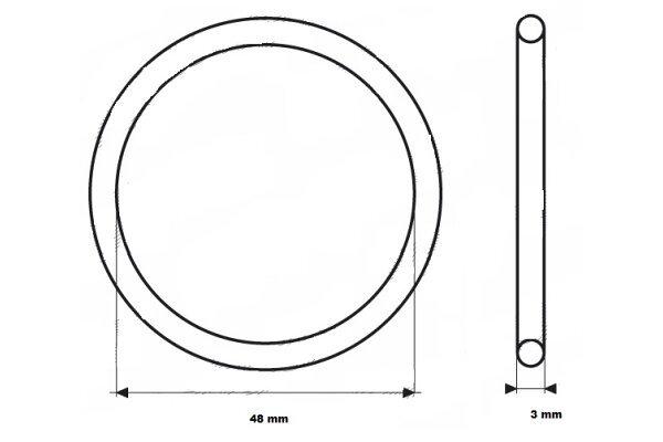 Brtvilo termostata UOR04 - 48x3 mm