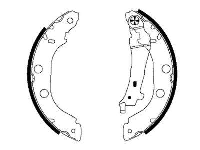 Čeljust kočiona S72-1031 - Renault